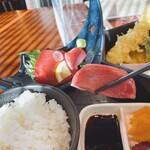海鮮 日本酒 ほっこり - 中とろ気味
