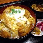 あか池 - カツ丼:945円 (2012)