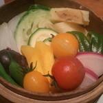 14353239 - musmus(日本の旬野菜セイロ蒸し)