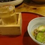 からくり - 日本酒とお通し