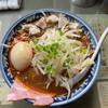 昭和 - 料理写真:辛みそ4辛¥850(ランチ時はめんの大盛り無料、さらには12時迄は味玉サービス)