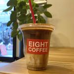 エイト コーヒー - ・LATTE ICE REGULAR 300円/税込 ・EXTRA ESPRESSO 150円/税込
