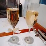 ビストロ アギャット - スパークリングワイン
