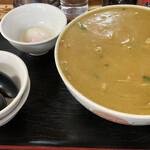 ラーメン ミート - カレーラーメン丼 990円