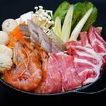 旬彩 心陣 - 心陣特製ちゃんこ鍋コース