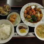 14354966 - 香港風酢豚定食