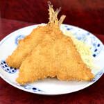 やしろ食堂 - 料理写真:鯵フライ・230円
