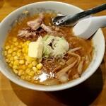 さっぽろ純連 - 料理写真:これぞ札幌の味「みそバターコーンラーメン」。本場のよりちょっとお上品な味