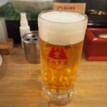 堂山食堂 - 生ビール
