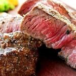 ◆1月限定・~幻の炭で焼く~ワインビーフの発酵熟成サーロイン・レアステーキ◆