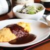 レストラン ADAM&EVE - 料理写真:帰ってきた オムライスランチ ¥1.000-