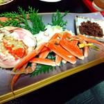 秀竹 - セイコガニ(朝食)