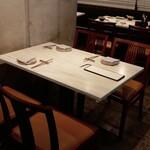 CINA New Modern Chinese - ☆テーブル席の雰囲気はこちら(*^^)v☆