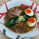 Ramentanino - 「拉麺その三(金華ハムと干し貝柱のスープ)」