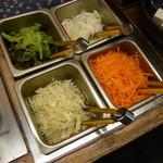 自然派レストラン おばんざい - バイキングエリア