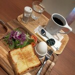 小川珈琲 - パンと珈琲美味かった
