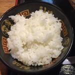 金澤味噌ラーメン 神仙 - ライス