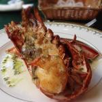 レ・セゾン - 活オマール海老のロースト ライム風味