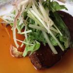 レ・セゾン - 国産牛フィレ肉の網焼き 茗荷ソース