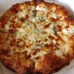 ピザドゥ - クワトロ・ケラー(M);4種類のチーズ:黒松内のモッツァレラとクリームチーズが力強い! @2012/08/16