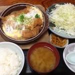 14357976 - 煮かつ定食(男子学生用かのようなボリューム!!)