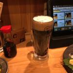 備長炭やきとり 美味美味 - 黒ビール