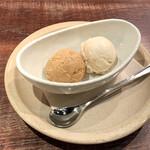 143571212 - アイス                       キャラメル&マロン
