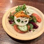 143571213 - 旬の野菜のグリーンサラダ