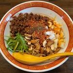 麺や一芯 - 料理写真:汁なし担々麺 香酢 850円