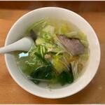 ロジェ・カフェヌードル - 野菜めん 790円