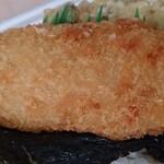 ほっともっと - のり弁当の白身魚のフライ