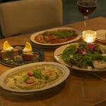 METoA Cafe & Kitchen - ヘルシーナイトプラン