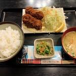 わぶ - カキフライ定食