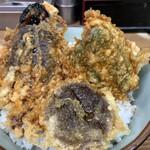 豊野丼 - 鮪の喉天丼 丼アップ