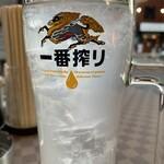 桐のや水産 - レモンサワー(1杯目)
