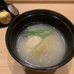 東條 - 湯葉、生麩のおろし汁