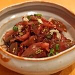 中国料理 琥珀 - ザーサイの梅風味あえ