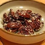中国料理 琥珀 - ピーカンナッツの飴炊き