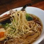 和 dining 清乃 - 角長醤油「匠」(麺リフト)