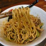 和 dining 清乃 - 汁なし担担麺(麺リフト)