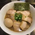 中華そば おかべ - 味玉チャーシュー麺1140円