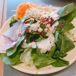 Makettosutorito - 緑の葉っぱ美味い。クレソン?