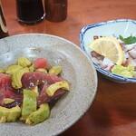 Taishuukappoutouhachi - マグロavocadoとタコ