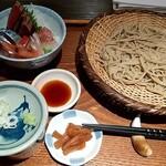 sobakirikuromugi - 数量限定:海鮮丼と蕎麦のセット