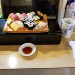 魚がし寿司 - 特上寿司。