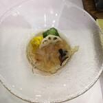篝火の湯 緑水亭 - くらげ胡麻酢和え