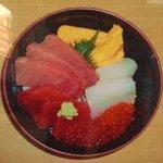 食事処かじめ - 海鮮3色丼