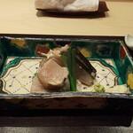 銀座 よし澤 - 鰆のわら焼き