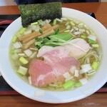 麺SAMURAI 桃太郎 - 奥州いわいの鶏だし塩 800円