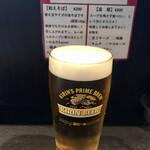 143604381 - 生ビール350円